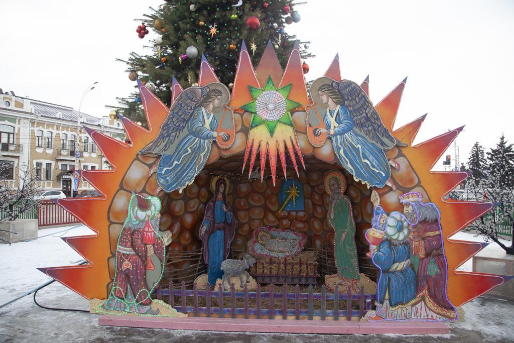 В Тамбове прошла епархиальная ёлка для воспитанников воскресных школ
