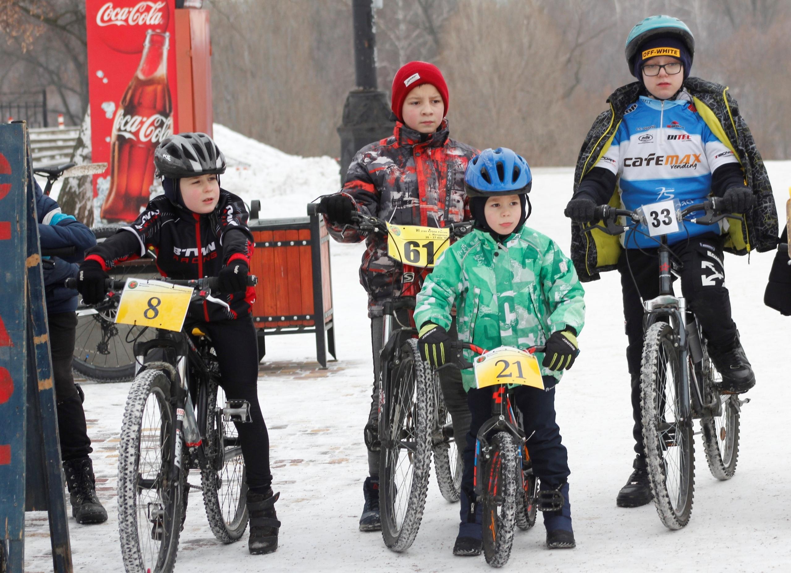В Тамбове прошла традиционная рождественская велогонка