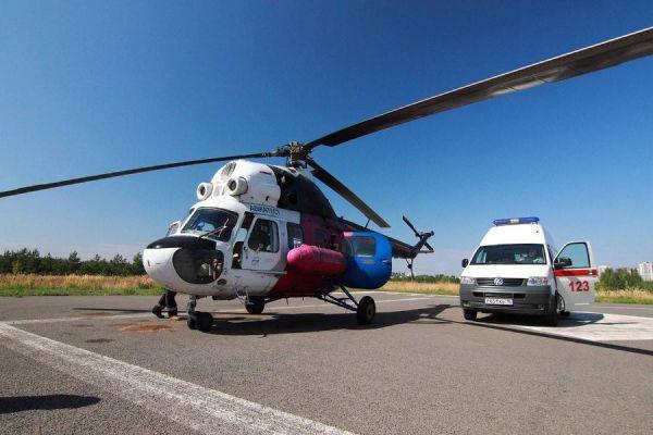 В Тамбовской области построят две вертолётные площадки для санитарной авиации