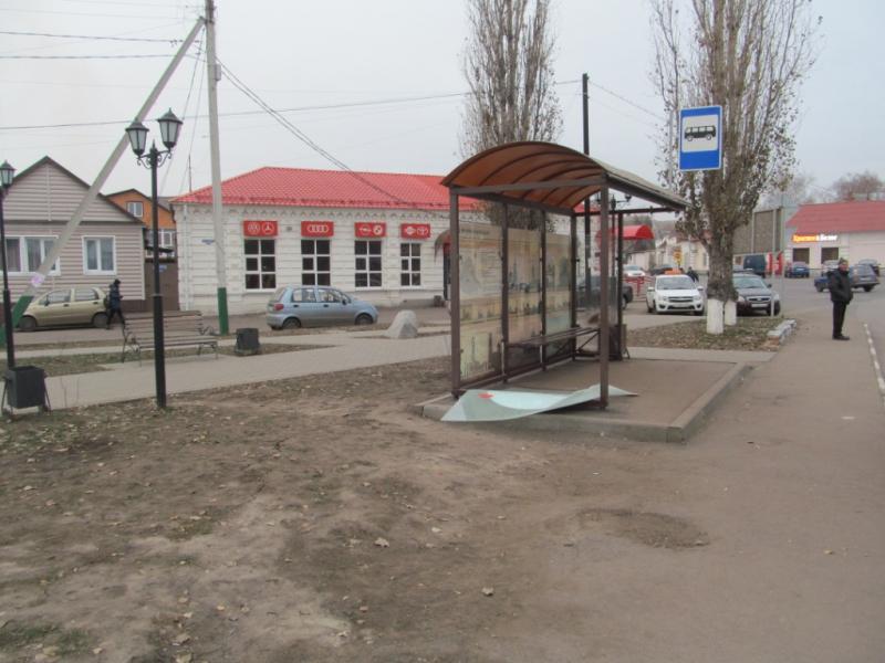 В Тамбовской области задержали вандалов, разбивших две остановки в наукограде
