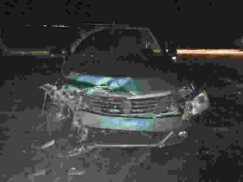 В Тамбовском районе в аварии с двумя легковушками пострадал водитель