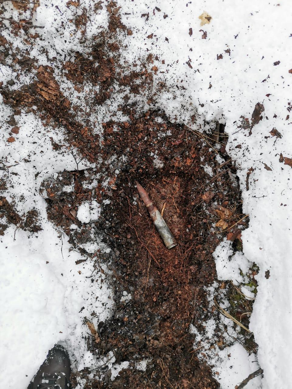 В Тамбовском районе во дворе дома нашли неразорвавшийся снаряд