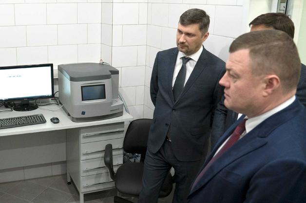 В ТГУ имени Державина открылась Лаборатория спектрального анализа