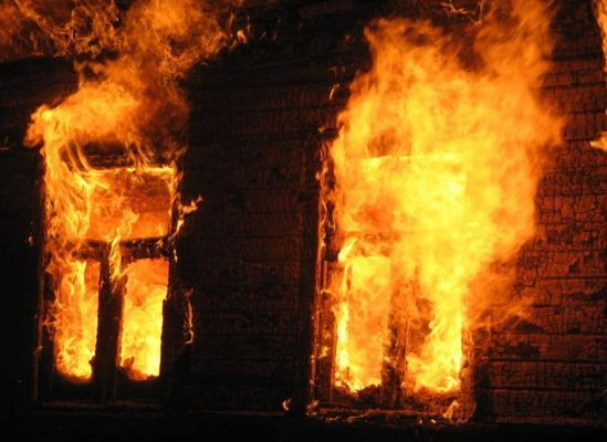 В Жердевском районе при пожаре погиб 60-летний мужчина