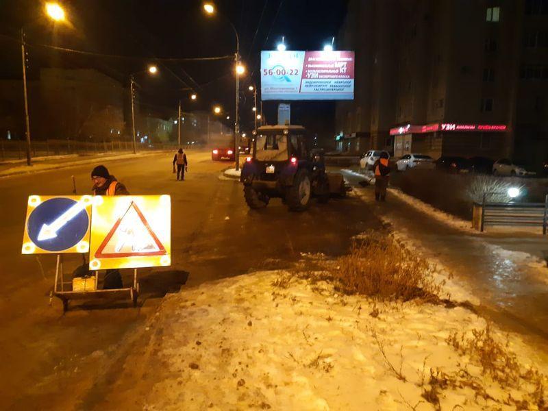 За первую неделю января из Тамбова вывезли более трех тысяч кубометров снега