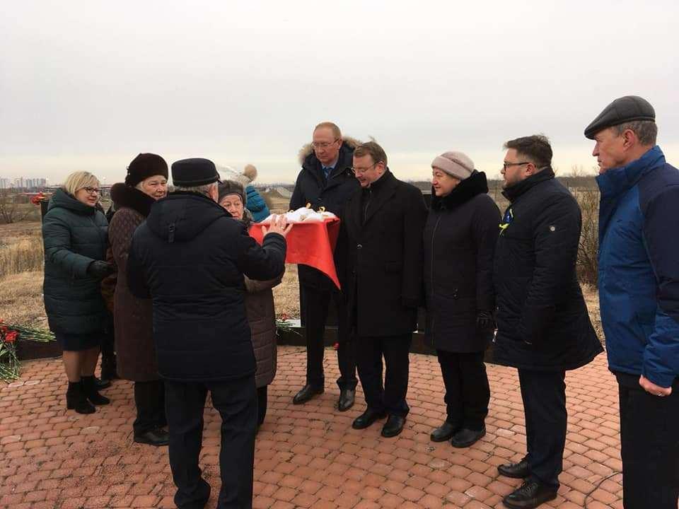 Землю с Пулковских высот доставят в Рассказово
