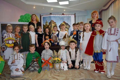 Дошкольники Тамбова открыли театральный сезон