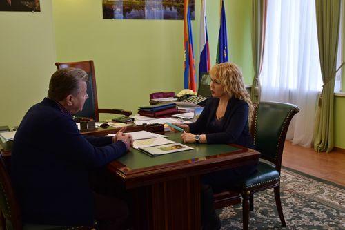 Глава Тамбова Наталия Макаревич встретилась с мэром Нижневартовска