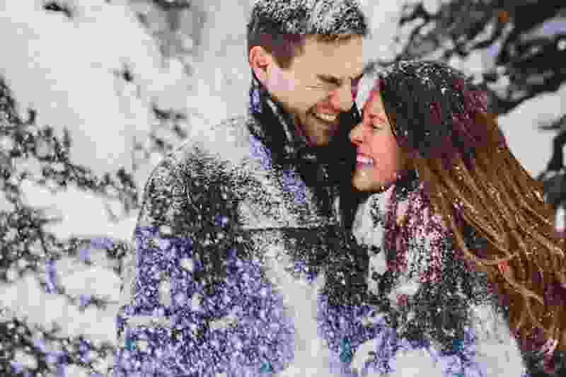 На День влюблённых в Тамбовской области ожидается гололёд и дождь