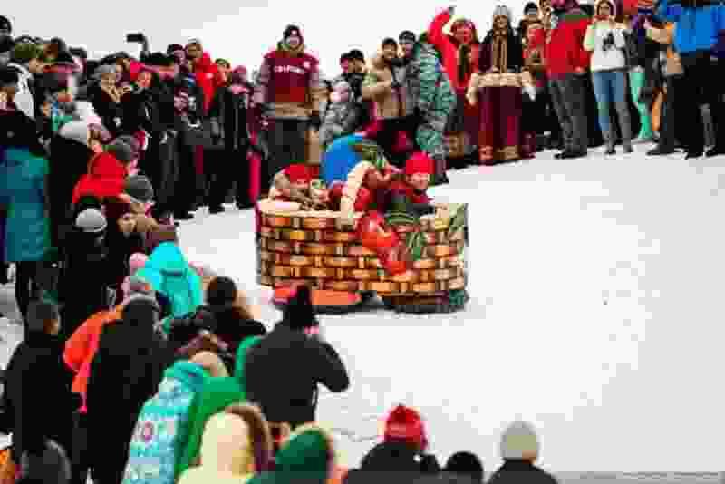 На фестиваль «Лысогорские санки» в этом году синоптики обещают гололедицу