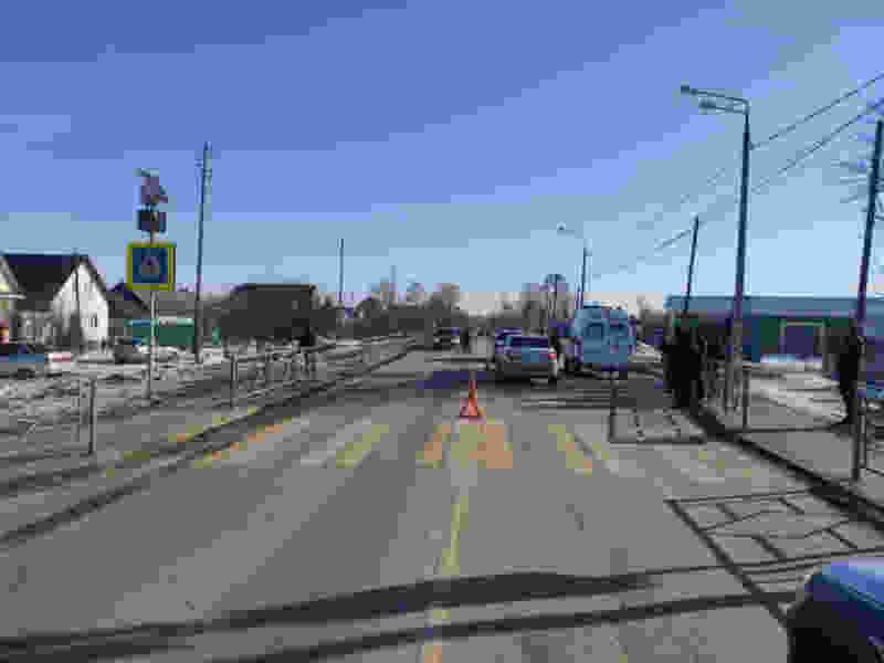 На трассе в Тамбовской области 52-летняя женщина на иномарке сбила пешехода