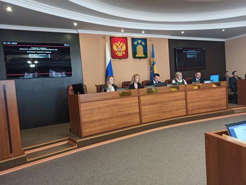 Об итогах 68-го очередного заседания Тамбовской городской Думы Тамбовской области