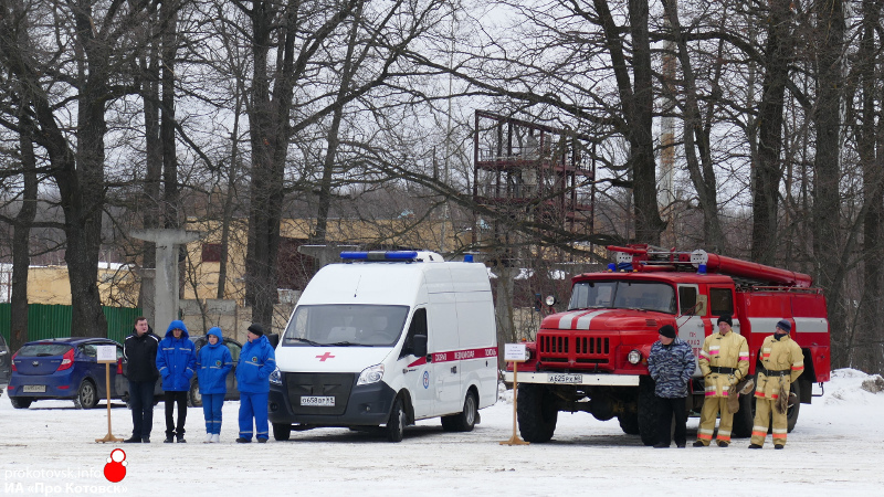 В Котовске провели смотр готовности сил и средств к весенне-летнему сезону