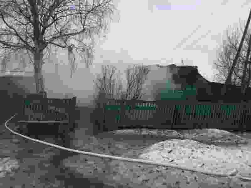 В Пичаевском районе в пожаре погибли двое людей