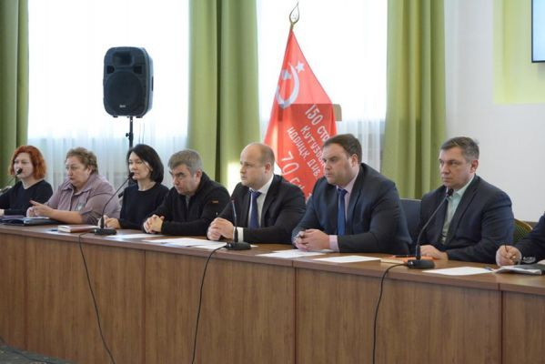 В Рассказовском районе обсудили мероприятия к Дню Победы
