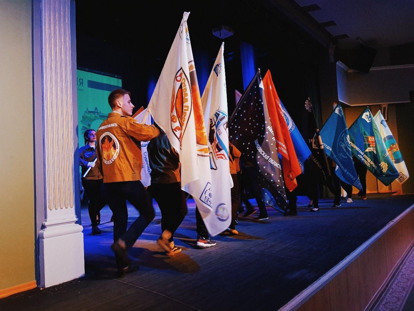 В Тамбове отметили День российских студенческих отрядов