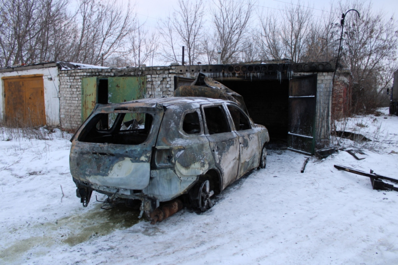 В Тамбовской области бывшая жена бизнесмена попросила знакомого сжечь его иномарку