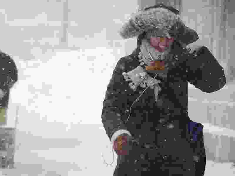 В Тамбовской области ожидается усиление ветра и гололедица