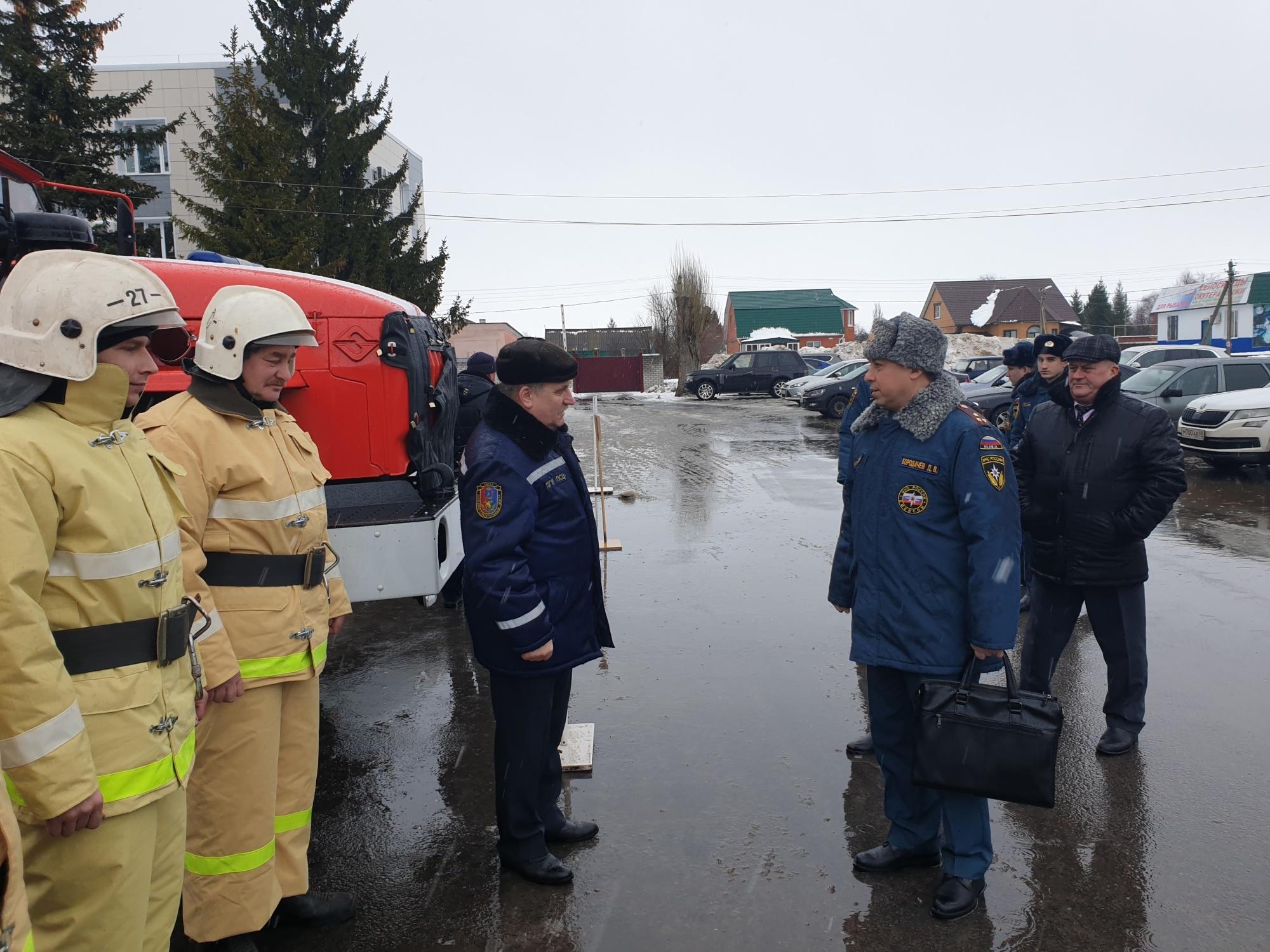 В Тамбовской области проверяют готовность сил и средств к пропуску весеннего паводка