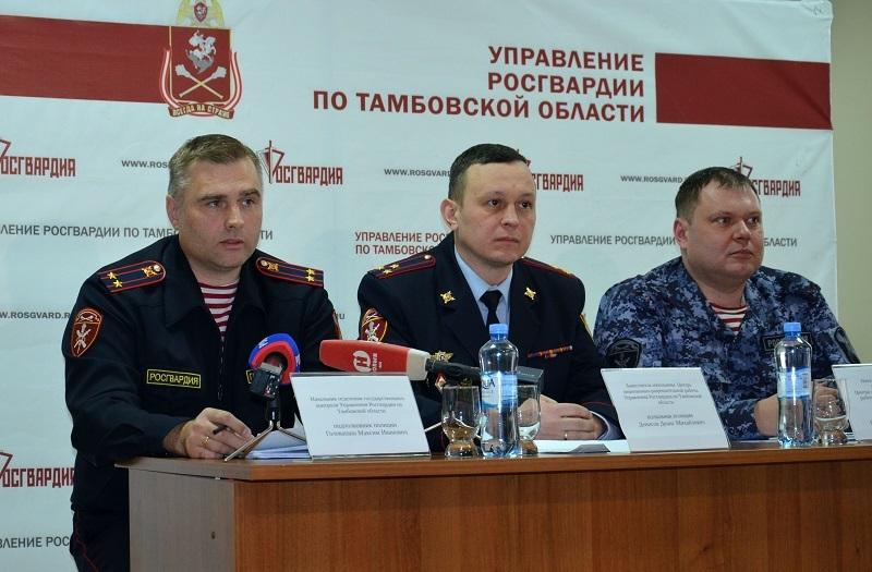 В Тамбовской области за год изъяли почти тысячу единиц оружия