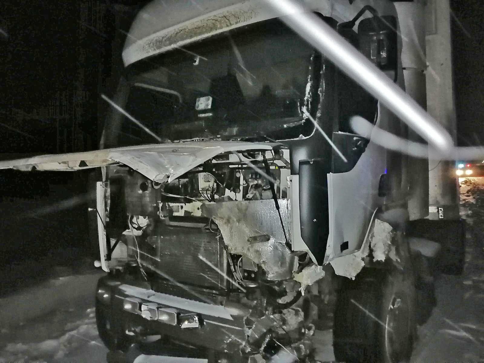 В Тамбовском районе произошло сразу несколько аварий из-за погодных условий