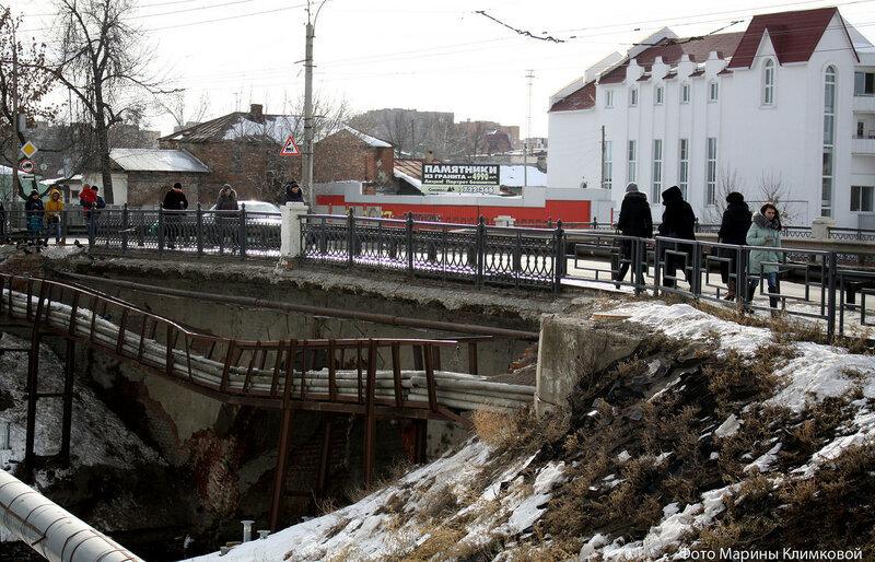 Весной в Тамбове наконец-то начнут ремонт моста через Студенец. Откроют его к сентябрю