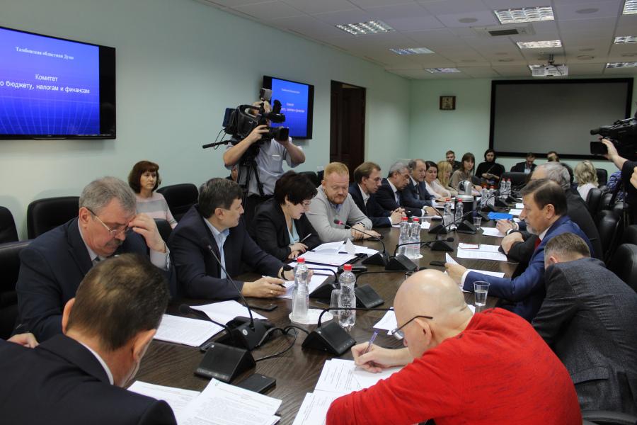 Бюджет Тамбовской области увеличится на 1,7 млрд рублей