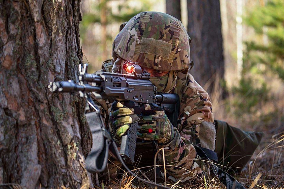 На полигоне в Тригуляе прошли учения спецназа Западного военного округа