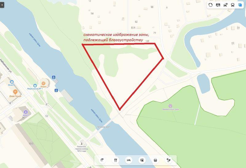Началось голосование за проект благоустройства заречной территории в парке «Дружба» в Тамбове
