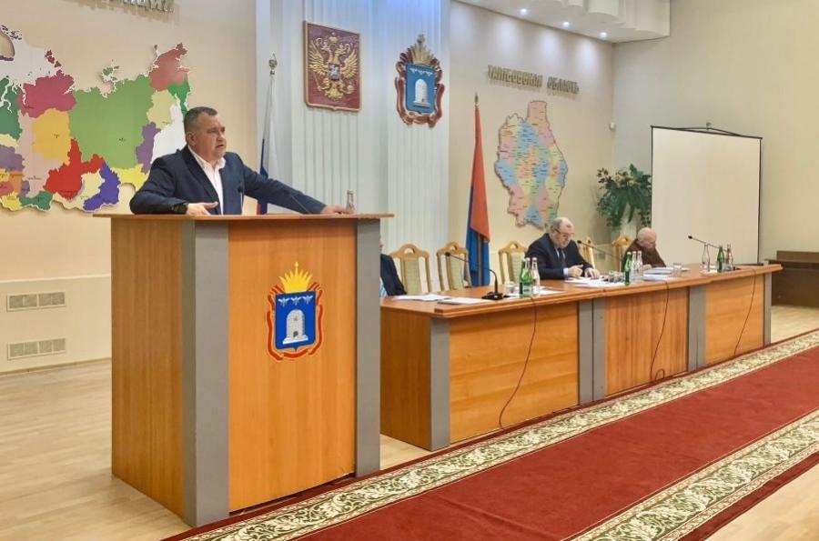 Общественная палата представила доклад о состоянии гражданского общества в Тамбовской области