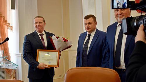 Тамбов удостоен диплома I степени за достижение целевых показателей в реализации национальных проектов по итогам 2019 года