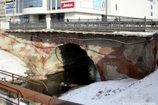В апреле начнётся реконструкция моста на Базарной