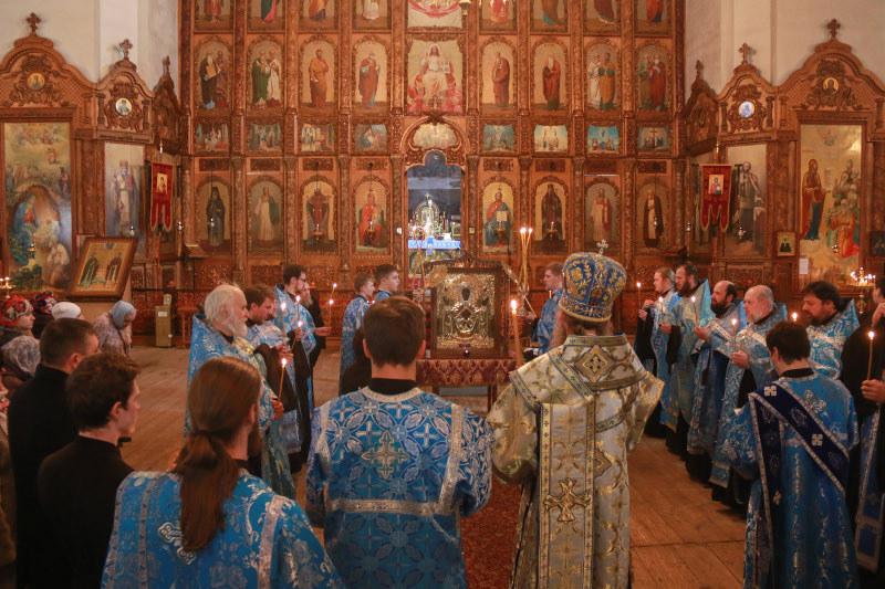 В Мичуринск прибыла чудотворная икона