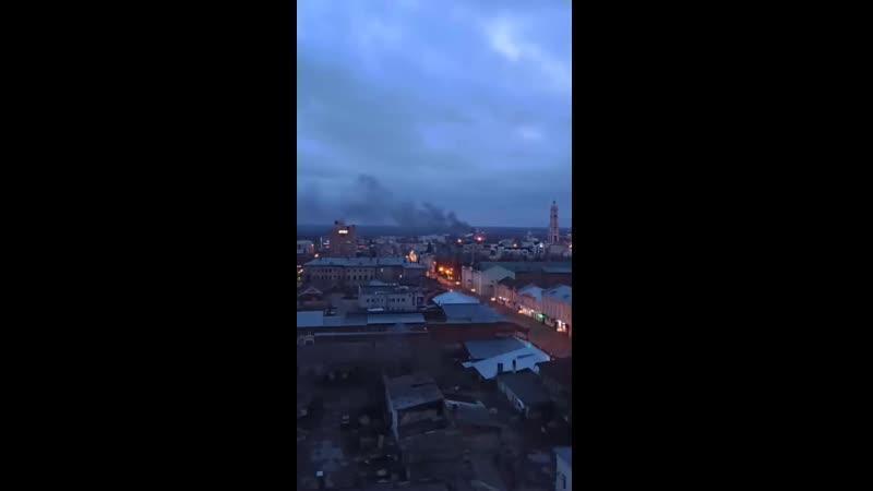 В пригороде Тамбова сгорела дача, соседние дома отстояли