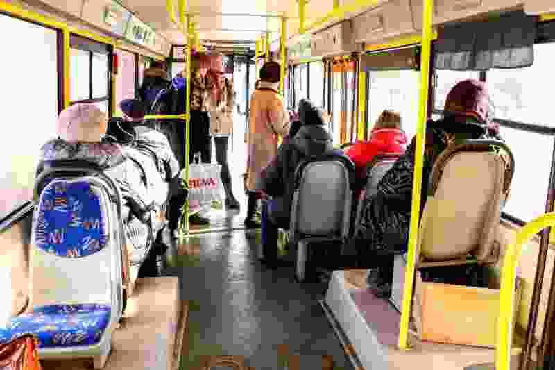 В Тамбове начали дезинфицировать городской транспорт