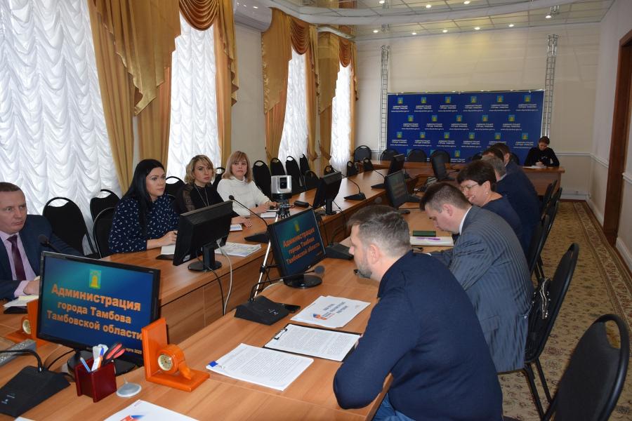 В Тамбове обсудили, как организовать голосование за изменения в Конституцию
