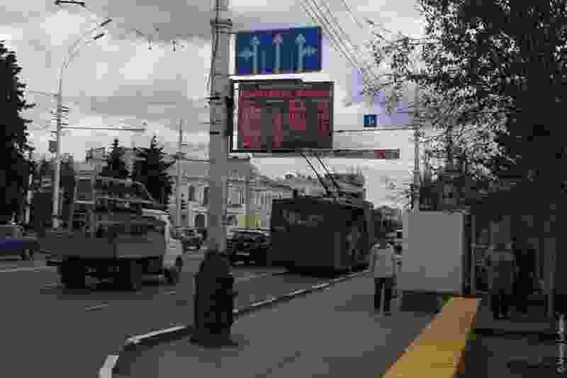 В Тамбове перестали работать все электронные табло на остановках