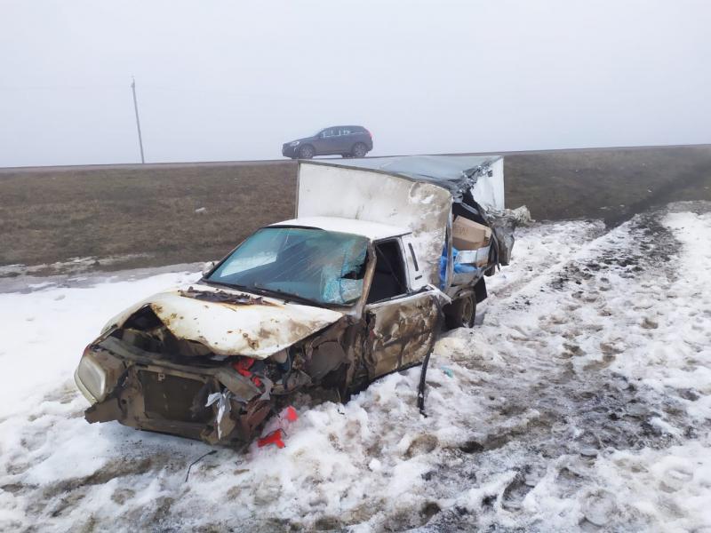 В Тамбовской области из-за тумана произошло тройное ДТП: есть погибший