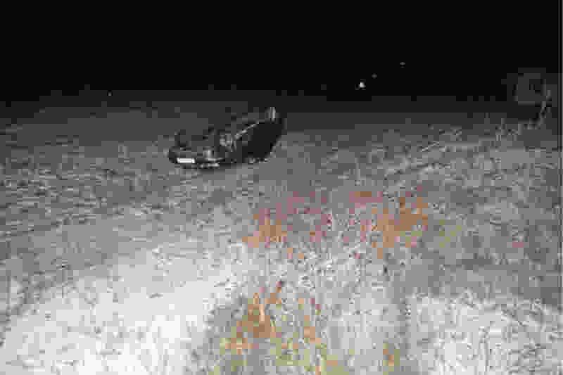 В Тамбовской области легковушка улетела в кювет: пассажиры госпитализированы