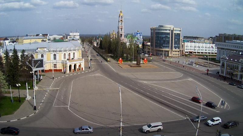 Индекс самоизоляции показывает: на улицах Тамбова гуляют люди