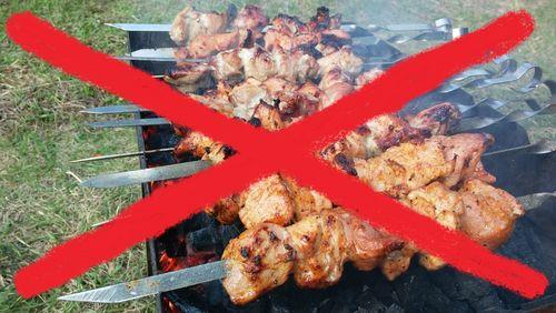 Пикники на майские праздники под запретом