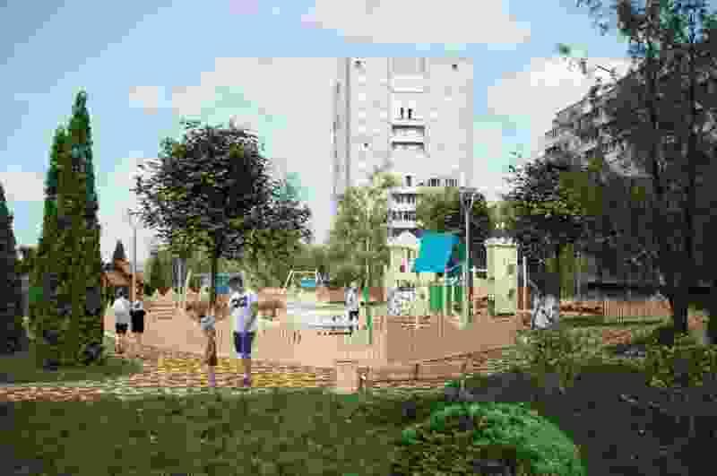 Тамбовчанам предлагают придумать название деревянного городка на Набережной и представляют его дизайн-проект