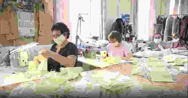 Тамбовское ателье наладило массовое производство масок