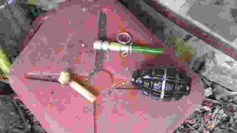 В частном доме в Мичуринске обнаружена граната