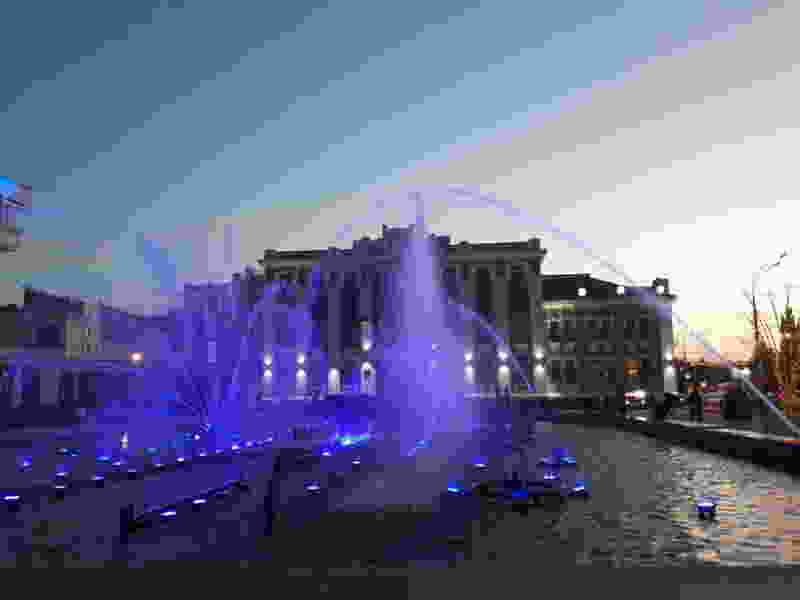 В Тамбове перенесли дату запуска фонтанов