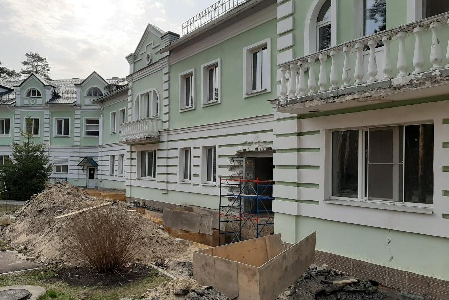 В Тамбове реконструируют геронтологический центр