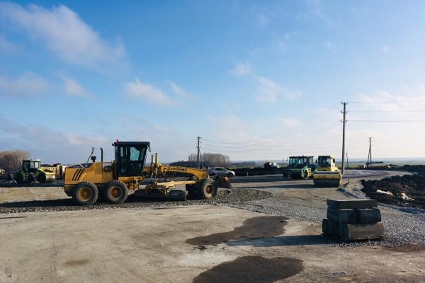 В Тамбовской области продолжается строительство двух автомобильных дорог