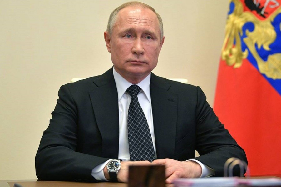 Владимир Путин сегодня выступит с обращением к россиянам