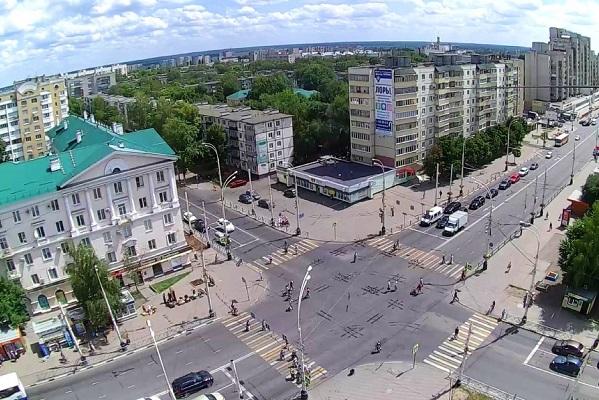Более 70 ДТП в Тамбовской области в этом году произошло на перекрёстках