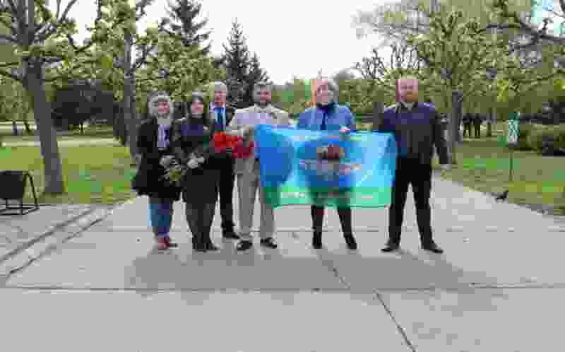 Член Совета Федерации от Тамбовской области Алексей Кондратьев принял участие в акции «Сад Памяти»